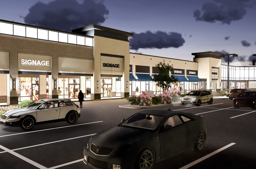 Regency Park Architectural Rendering